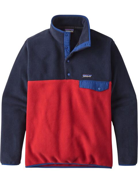Patagonia Synch Snap-T P/O - Veste Homme - rouge/bleu